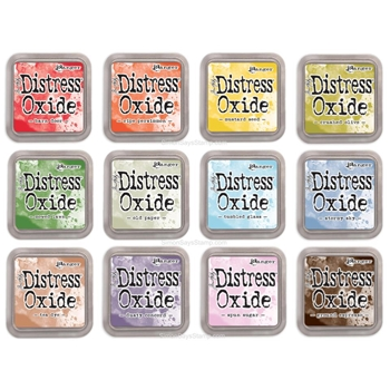 Tim Holtz Distress OXIDE INK PAD SET OF 12 Ranger ranger114