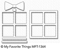 My Favorite Things GIFT SHAKER WINDOW AND FRAME Die-Namics MFT1364