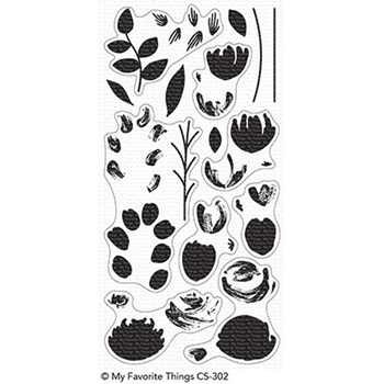My Favorite Things PAINTED PRINTS Clear Stamps CS302