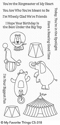 My Favorite Things THE GREATEST SHOW Clear Stamps CS318 Preview Image