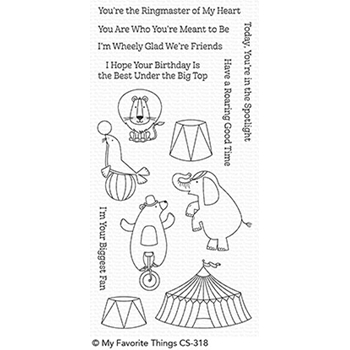 My Favorite Things THE GREATEST SHOW Clear Stamps CS318