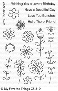 My Favorite Things LOVE BUDS Clear Stamps CS310 Preview Image