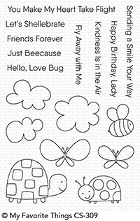 My Favorite Things LOVE BUGS Clear Stamps CS309