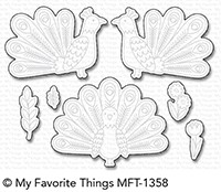 My Favorite Things PLAYFUL PEACOCK Die-Namics MFT1358