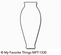 My Favorite Things FLOWER VASE Die-Namics MFT1330