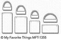 My Favorite Things GIFT BAGS Die-Namics MFT1355