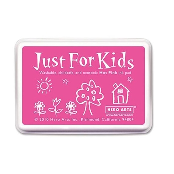 Hero Arts Just for Kids HOT PINK Ink Pad CS105