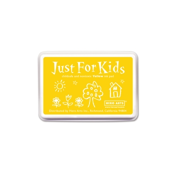 Hero Arts Just for Kids YELLOW Ink Pad CS111