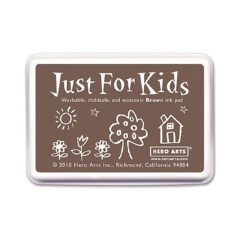Hero Arts Just for Kids BROWN Ink Pad CS109