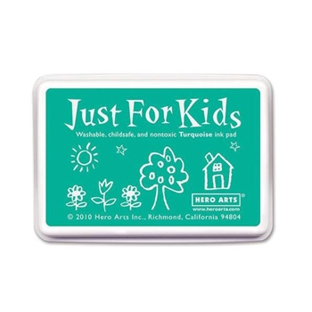 Hero Arts Just for Kids TURQUOISE Ink Pad CS106