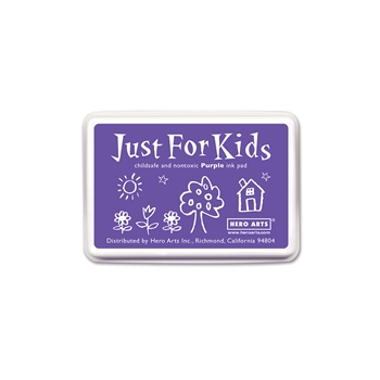 Hero Arts Just for Kids PURPLE Ink Pad CS104