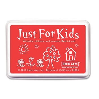 Hero Arts Just for Kids RED Ink Pad CS103