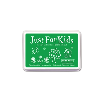 Hero Arts Just for Kids GREEN Ink Pad CS102