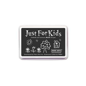 Hero Arts Just for Kids BLACK Ink Pad CS100