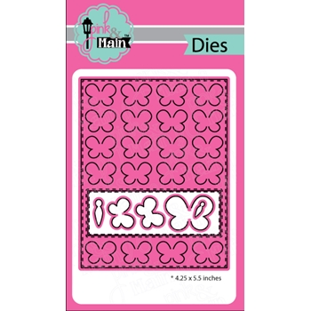 Pink and Main BUTTERFLY COVER Dies PNM164