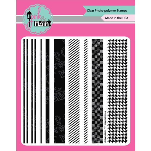 Pink and Main PATTERN MAKER Clear Stamp PM0292 Preview Image