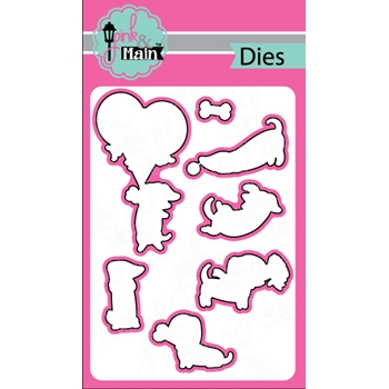 Pink and Main DIGGITY DOG Dies PNM166