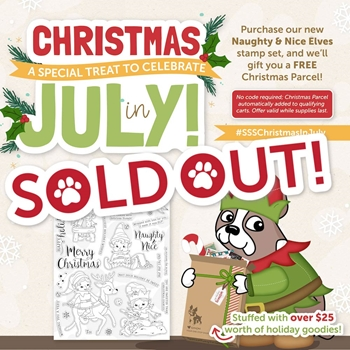 Simon Says Clear Stamps CHRISTMAS IN JULY BUNDLE CJSSS2018
