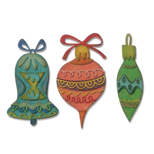Tim Holtz Sizzix WHIMSY DECOR Thinlits Die 663102 Preview Image