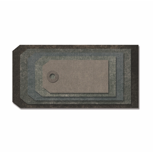 Tim Holtz Sizzix STACKED TAGS Thinlits Die 663118 Preview Image