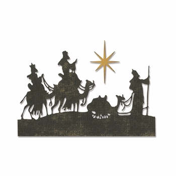 Tim Holtz Sizzix WISE MEN Thinlits Die 663127