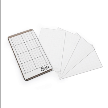 RESERVE Tim Holtz Sizzix STICKY GRID SHEETS Sidekick 663534
