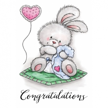 Wild Rose Studio BABY BUNNY Clear Stamp Set CL517