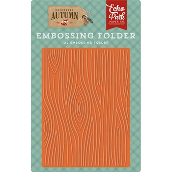 Echo Park WOOD GRAIN Embossing Folder cau158032