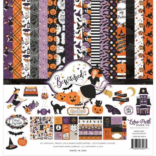Echo Park BEWITCHED 12 x 12 Collection Kit be166016 Preview Image