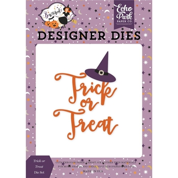 Echo Park TRICK OR TREAT HAT Die Set be166041