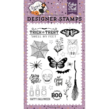 Echo Park STAY FOR A SPELL Clear Stamps be166044