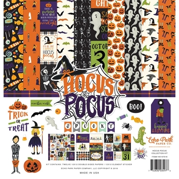 Echo Park HOCUS POCUS 12 x 12 Collection Kit ho157016