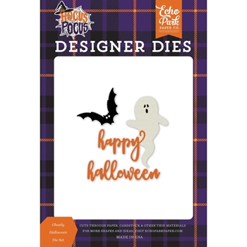 Echo Park GHOSTLY HALLOWEEN Die Set ho157040