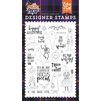 Echo Park HAPPY HAUNTING Clear Stamps ho157043