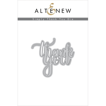Altenew SIMPLY SAID THANK YOU Die ALT2436