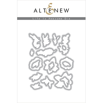 Altenew LIFE IS AWESOME Dies ALT2426