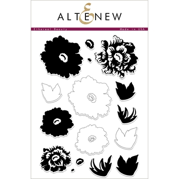 Altenew ETHEREAL BEAUTY FLORAL Clear Stamps ALT2418