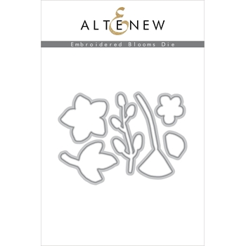Altenew EMBROIDERED BLOOMS Dies ALT2417