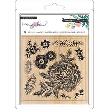 Crate Paper WILLOW LANE Clear Stamps 344479
