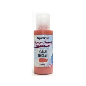 Paper Artsy Fresco Finish PEACH NECTAR Chalk Acrylic Paint 1.69oz ff144