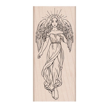 Hero Arts Rubber Stamps HEAVENLY ANGEL K6292