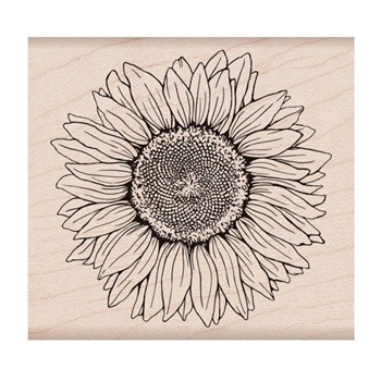 Hero Arts Rubber Stamp FLORALS SUNFLOWER K6288