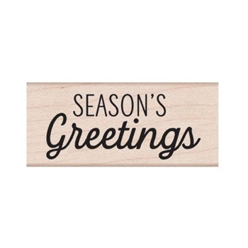 Hero Arts Rubber Stamp SEASON'S GREETINGS MIXED SCRIPT D6295
