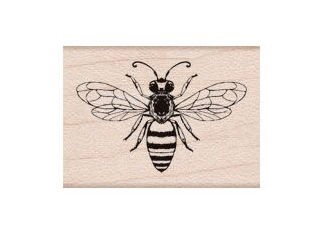 Hero Arts Rubber Stamp FRIENDLY BEE A6291 zoom image