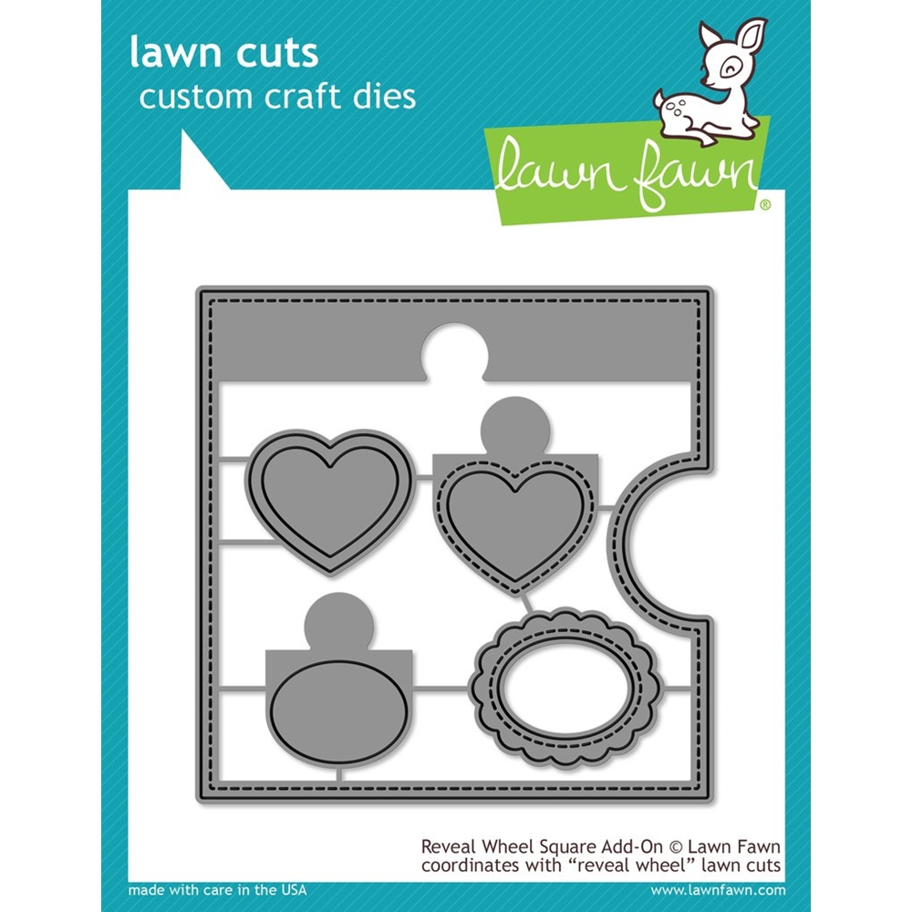 Lawn Fawn REVEAL WHEEL SQUARE ADD-ON Die Cuts LF1791 zoom image