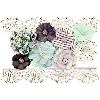 Prima Marketing SIMPLE THINGS Flirty Fleur Flowers & Chipboard 634544