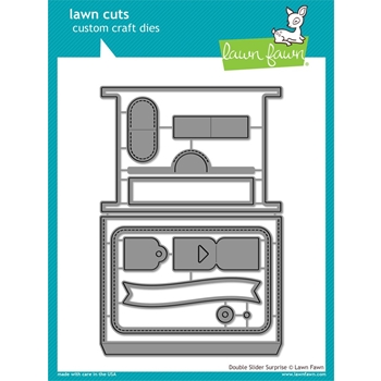 Lawn Fawn DOUBLE SLIDER SURPRISE Die Cuts LF1781
