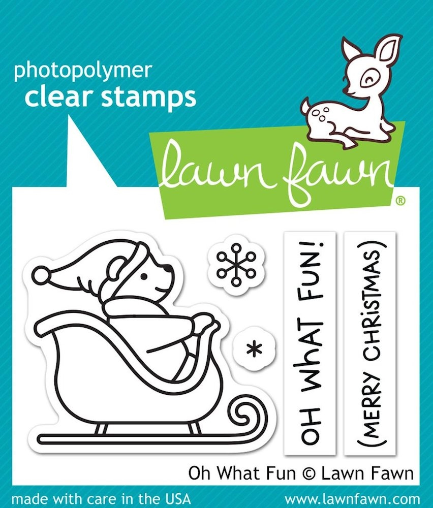 Lawn Fawn OH WHAT FUN Clear Stamps LF1776 zoom image