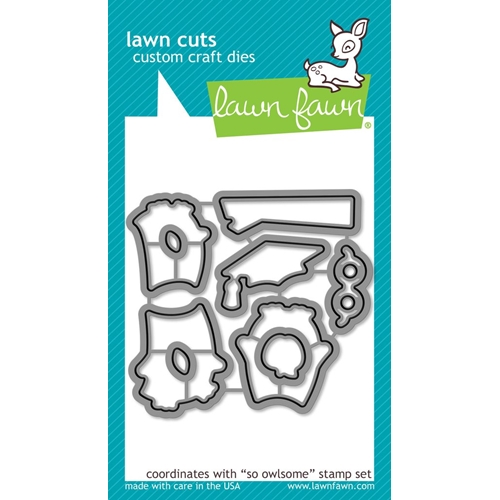 Lawn Fawn SO OWLSOME Die Cuts LF1758 Preview Image
