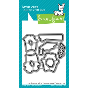 Lawn Fawn SO OWLSOME Die Cuts LF1758